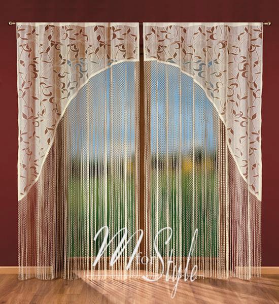string net curtain panel white or cream slot top window